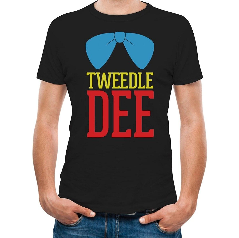 Shirt design for couples - Printed Tee Shirt Design Tweedle Dee Funny Matching Couples Gift Men S T Shirt Circle
