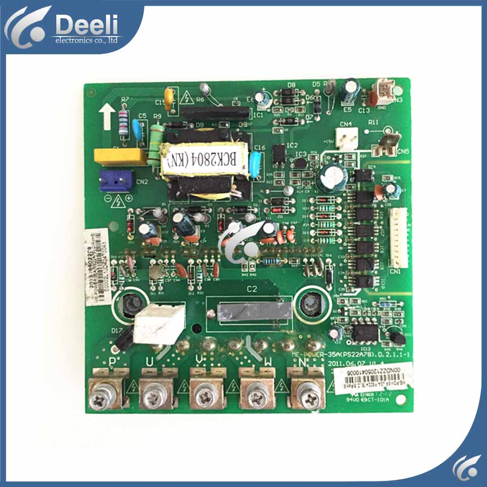 95% new good working for air conditioning Computer board Frequency module board ME-POWER-35A (PS22A78)D.2.1.1 PC board used good working used board for refrigerator computer board power module da41 00482j board