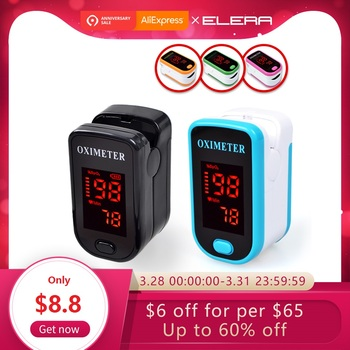 New Finger Pulse Oximeter With Case Fingertip