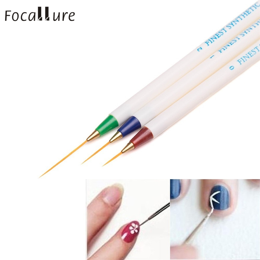 6PCS Nail Art Design Set Dotting Painting Drawing Brush