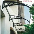 """YP100300 100x300 cm 39 """"x118 Freesky copa porta, policarbonato toldo, porta da frente de varandas"""