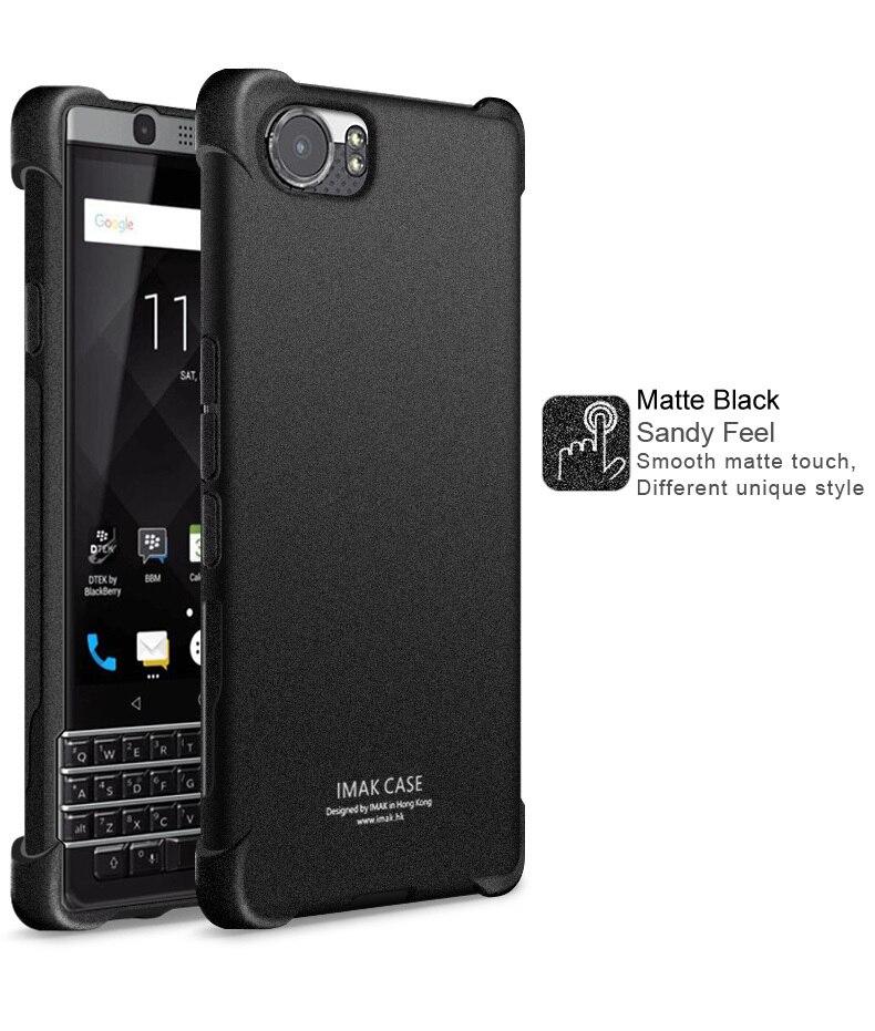 Imak la sfor Blackberry Keyone Cas Avec Écran Protecteur AirBag Série Tpu Silicone Quatrième De Couverture Pour Blackberry Mercure DTEK70