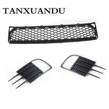 Front Bumper Lower Grille + Pair Foglight Grill Cover Bezel For VW Golf GTI MK6 - DISCOUNT ITEM  22% OFF Automobiles & Motorcycles