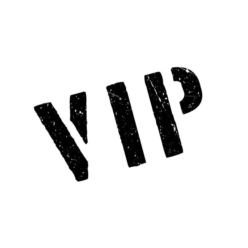 VIP personnalisé cas pour iphone xs max x xr