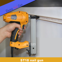 New Hot Electric Nail Gun High quality ST18 Steel Nail Gun Woodworking Wire Slotting Device Decoration Tools 220 240v 50HZ 1800W