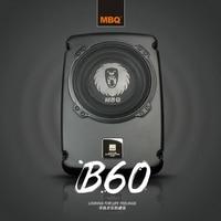 MBQ Car Audio Conversion Slim Active Subwoofer Car Subwoofer Car Subwoofer B 60 Genuine New Ultra