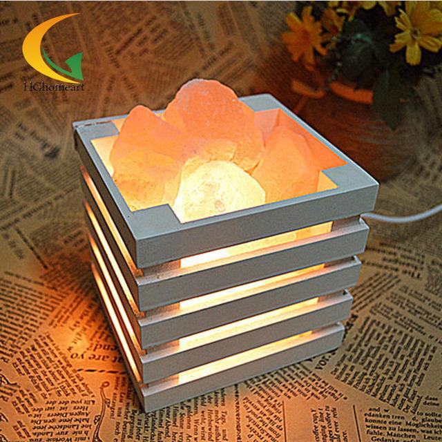 Quarto dimmer lâmpada de cabeceira de iluminação da lâmpada incandescente Nightlight criativo moderno lâmpadas de sal