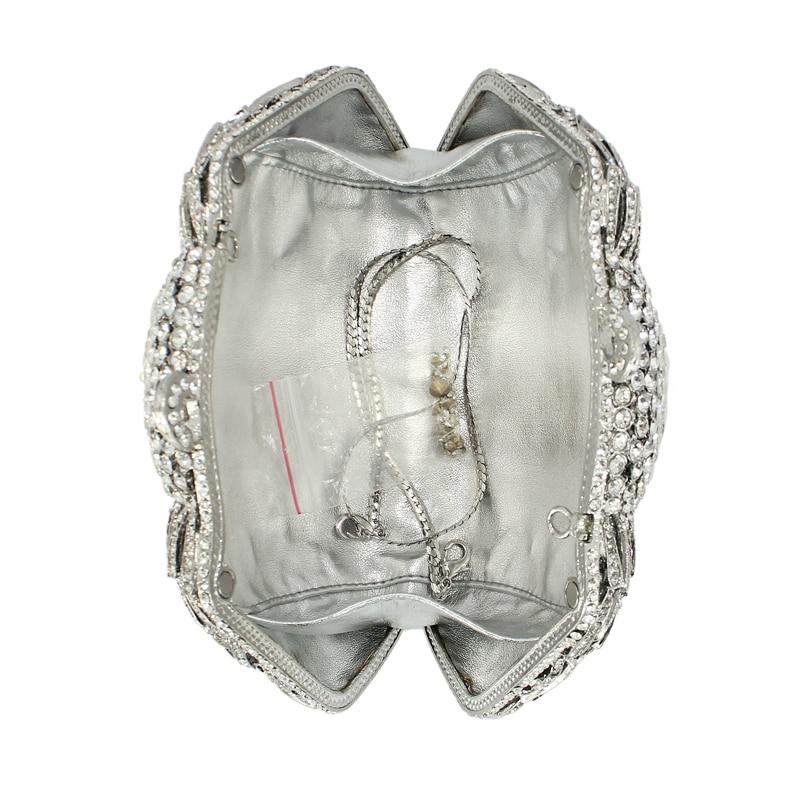 Bourse La Rouge Blanc Qualité Sac Main Cristal Sacs Soirée Occasionnel Femmes Haute foncé Hiver 88210 De Noce D'embrayage En Avec Chaîne À Bandoulière rg Pgw5qF