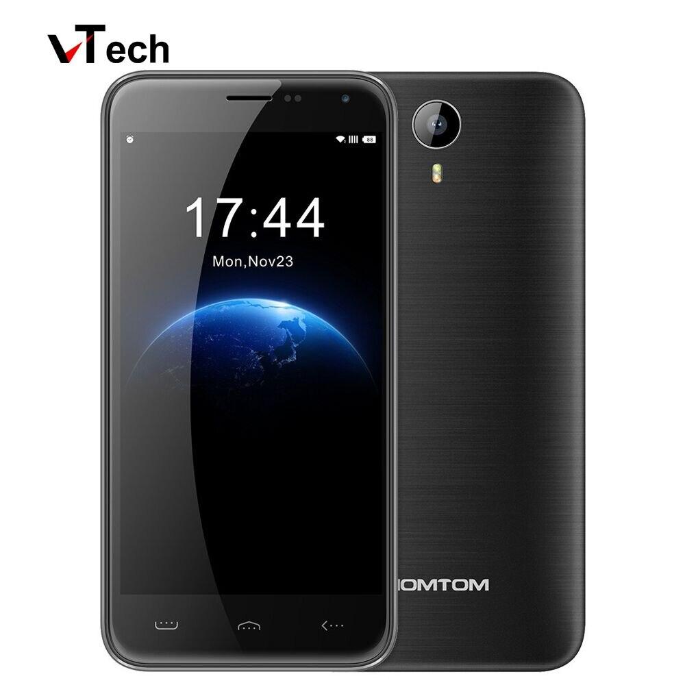Hot Sale Original Homtom HT3 Smartphone 5 0 Inch Android 5 1 3G WCDMA MTK6580 Quad