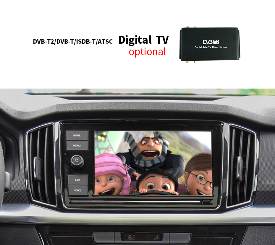 DVB-T T2 ISDB-T Digital TV