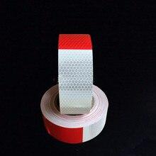 Светоотражающие украшение, 5 см x 300 см, самоклеющиеся Предупреждение ющие, отражающие ленты, пленка, авто отражатель, наклейки для стайлинга автомобилей