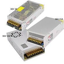 цена на Regulated Switching Power Supply DC36V 3A/10A/15A  Swich Driver Transformer AC110V 220V to DC 36v For LED Strip Light CNC