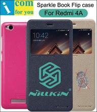 Nillkin Искра Книга Кожа Флип Чехол Для Xiaomi Redmi 4А (Snapdragon 425 5.0 дюймов) С Окном