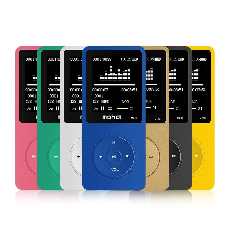 Original MP3 Player 8GB Built-in Speaker FM Radio Voice Recorder Micro usb MP3 Music Player Video Player 1.8 Inch Screen