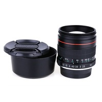 85mm F/1.8 Manual Focus Medium Telephoto Portrait Lens for Nikon D3200 D5200 D7000 D7200 D800 D700 D90 DSLR camera