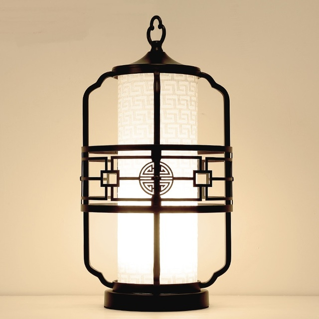 Chinese Style Table Lamps Bedroom Living Room Bedside Lamp Classical