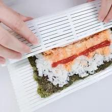 Nonstick Abwaschbar /& Reusable NIMOA Sushi Rolle Silikon Kuchen Rolle Matte Backen Matte