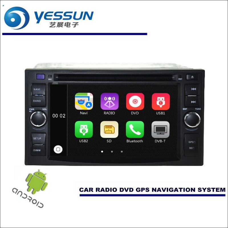 YESSUN Car Android Navigation System For KIA Carens Rondo 2005~2011 Radio Stereo CD DVD Player GPS Navi BT HD Screen Multimedia yessun for kia rio 2017 2018 android car navigation gps hd touch screen audio video radio stereo multimedia player no cd dvd