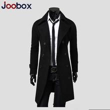 JOOBOX Mens Trench Coat 2018 New Fashion Designer M