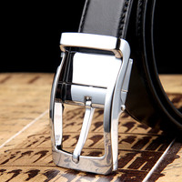 New Designer Belts Men High Quality Luxury Brand Leather Belt Pin Buckle Black Business Trouser Strap
