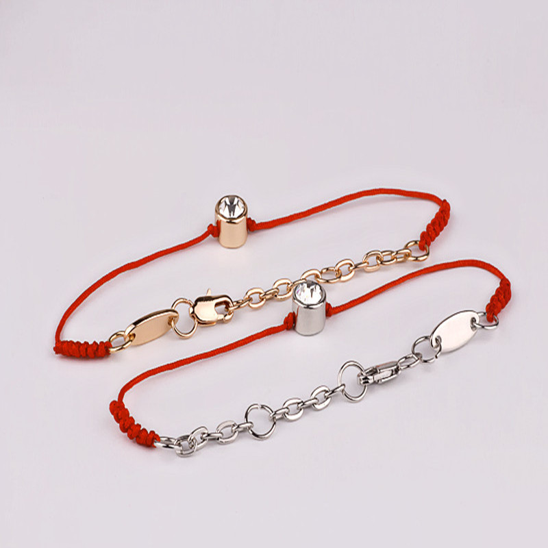 Mdiger Wholesale Mixed 10PCS/LOT Lucky Red Bracelets Thin Red Thread String Rope Women Bracelets & Bangles Crystals Jewelry