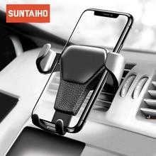 Suntaiho supporto Del Basamento Del Telefono Del Supporto Del Telefono Dellautomobile Per il iPhone In Car Air Vent Mount Basamento Del Supporto per auto Telefono Smartphone Universale stand