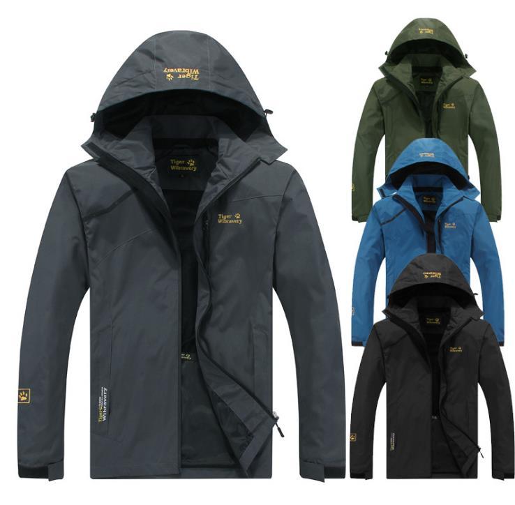 Printemps automne hiver hommes veste extérieure coupe-vent Camping randonnée sport manteau hommes et femmes pêche tourisme vestes imperméable