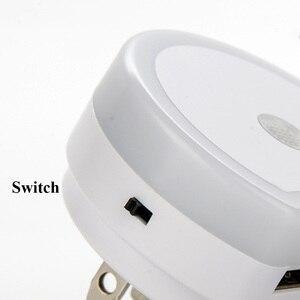 Image 4 - Thrisdar Light Sensor LED Night Light with Dual USB Port 5V 1A Control Room Home USB Plug in Wall Charger Lamp Plug Socket Light
