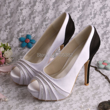 (20 Colors)Custom Handmade Very High Women Platform Shoes Pumps 42 Size Peep Toes Dropshipping
