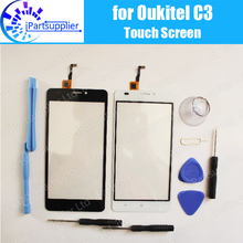 Oukitel C3 Touch Screen Digitizer 100% Guarantee Original Digitizer Glass Panel Touch Replacement For Oukitel C3 + Tools
