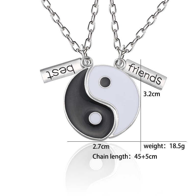 Pendant Necklace Women Yin Yang Tai Chi