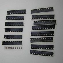 Free Shipping15 Kind*10pcs=150pcs sot-23 SMD Transistor Pack 9012, 9013, 9014, 9015, 5551, 5401, 8050, 8550, 1015 etc.#30040