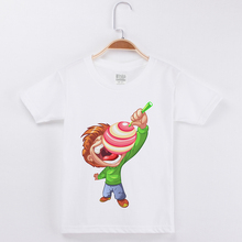 New Arrival Fashion T-Shirts For Boys Kids Clothes Cartoon Printing Boy Tops Tees White Half Sleeved 100 Cotton Child T Shirt 3 14years teen boys clothes roblox t shirt cartoon running t shirt fashion hot game 100% cotton blue tops tees kids costumes