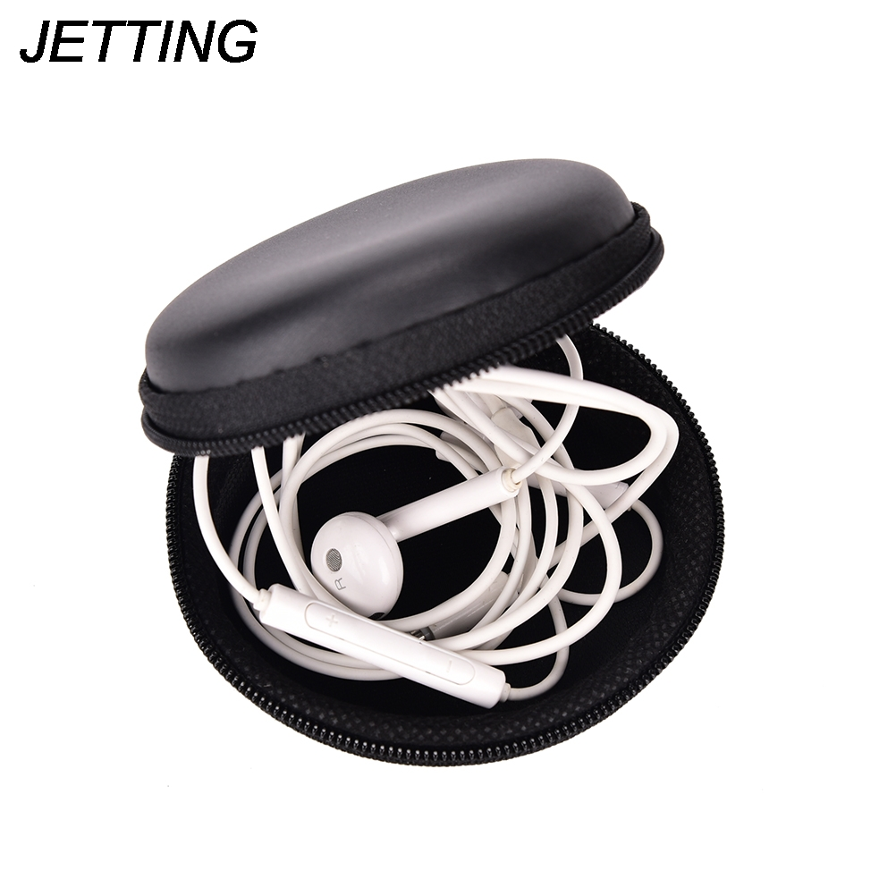 Portable Mini Coin Purse PU EVA Box for Coins Earphone Headphone SD TF Cards Cable Cord Wire Storage Key Wallet Bag Coin Purses