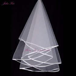 Джулия Куи в наличии оптовая/розничная продажа 100% гарантия кружево край м 1,5 м Длинные свадебная фата/Фата/свадебные аксессуары