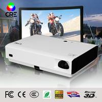 CRE X3001 MINI Portable DLP Projector Android4 4 WIFI Support FULL HD 1080P 3D Projector Support