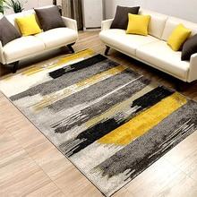 Современные европейские ковры для гостиной, геометрический абстрактный ковер с чернилами для спальни, журнальный столик, домашний прикроватный коврик
