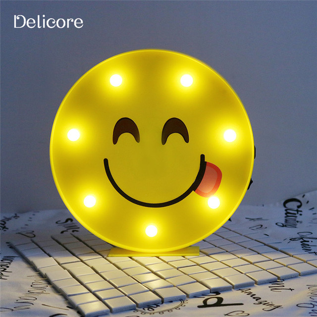 Delicore Mignon Emoji Led Lumi 232 Re Emoji D 233 Licieux Jaune En