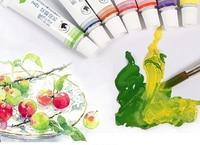 18 Цвета Рисование акварелью комплект Лидер продаж 12 мл воды Цвет пигмент для художественной школы студент товары для рукоделия