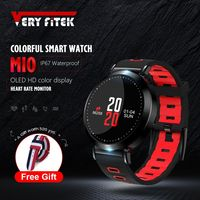 VERYFiTEK M10 Color Fitness Tracker Blood Pressure Watch Pedometer Bluetooth Smart Band Wristband Heart Rate Monitor