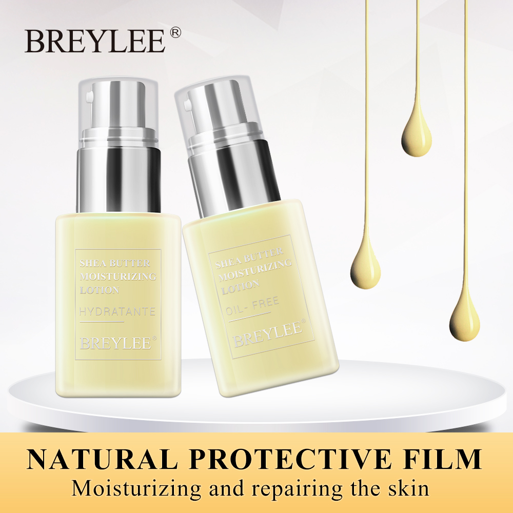 BREYLEE Face Cream Moisturizing Lotion Skin Care Shea Butter Moisturizer Anti Aging Emulsion Easy To Absorb Day Night Cream 45g