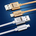 GOLF 1m 1.5m 2m 3m Fast Charge Braided Cord Micro USB Cable For Samsung LG Huawei Xiaomi HTC Moto Data Sync Quick Charging Wire