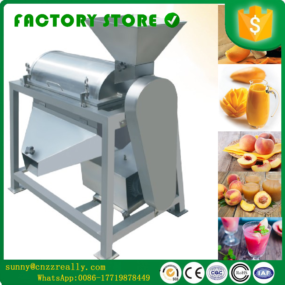 Mango fruit jam machines passion fruit juice pulping machine commercial fruit juice making - Machine a orange pressee ...