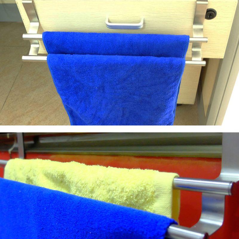 Выдвижная над дверью вешалка для полотенец бар подвесной держатель для ванной и кухни шкаф для гостиничного шкафа, полка для хранения|Вешалки для полотенец|   | АлиЭкспресс