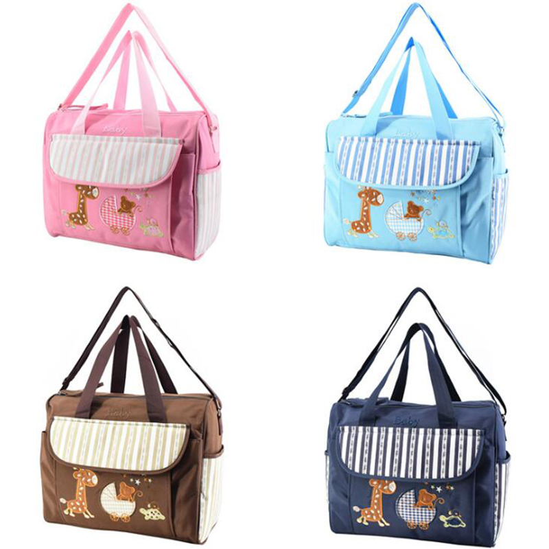 Diaper Bag Organizer Mommy Nappy Bags  Baby Girl Diaper Bags Mummy Large Travel Bag For Baby Care