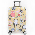 Children's Cute Cat Luggage Protective Cover Thick Elastic Cartoon Suitcase Dust Bag Fashion Travel Accessories Supplies Product