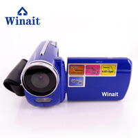 Winait 2017 hot sale DV 139 digital video camera with 4X Digital zoom Electronic shutter LED flash light