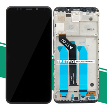 LCD Display Touch Screen for Xiaomi Redmi 5 Plus LCD Screen with Frame Digitizer Redmi 5Plus 5 Plus Replacement Parts for wiko ridge 4g lcd display with touch screen digitizer sensor white replacement parts 5 5 inch 1280 720