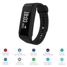 IPX7 Водонепроницаемый фитнес-трекер Bluetooth 4.0 Спорт браслет спальный мониторинга сердечного ритма умный группа браслет шагомер