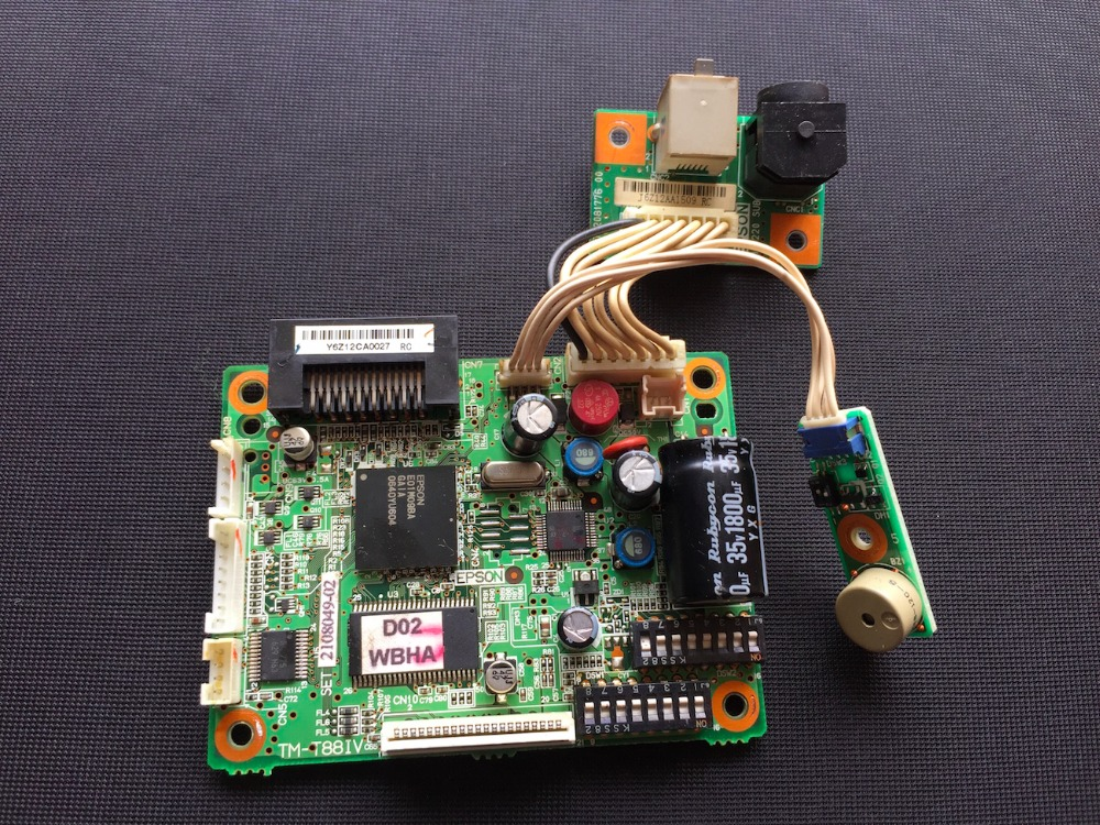 MOTHERBOARD MAIN BOARD FOR EPSON TM-88IV 88IV LABEL PRINTER main board for epson tm t88iii printer